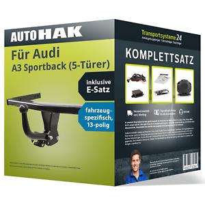 Anhängerkupplung starr für AUDI A3 Sportback (5-Türer) +E-Satz NEU inkl. EBA