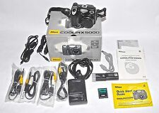 Nikon Coolpix 5000 5.0MP Digital Camera Original Box, Instructions, Accessories