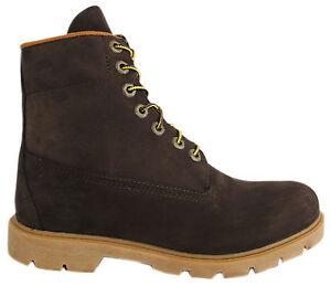 Timberland-15-2cm-Basico-Botas-hombre-piel-marrones-con-cordones-invierno-6400r
