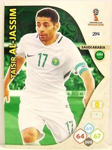 Panini Fifa World Cup Russia 2018 Adrenalyn XL Saudi Arabia Karten zum auswählen