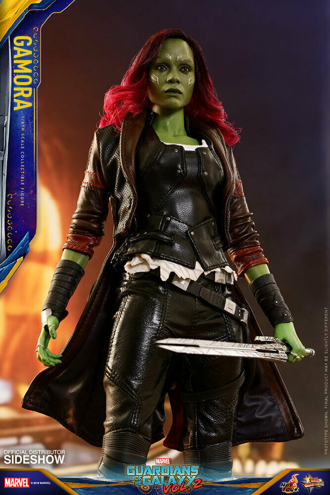 Hot Toys Gamora Marvel Guardians of the Galaxy 1/6th Scale Figure MMS539 on eBay thumbnail