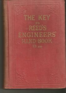 THE-KEY-TO-REED-039-S-ENGINEER-039-S-HANDBOOK-BY-W-H-THORN-amp-SON-VINTAGE