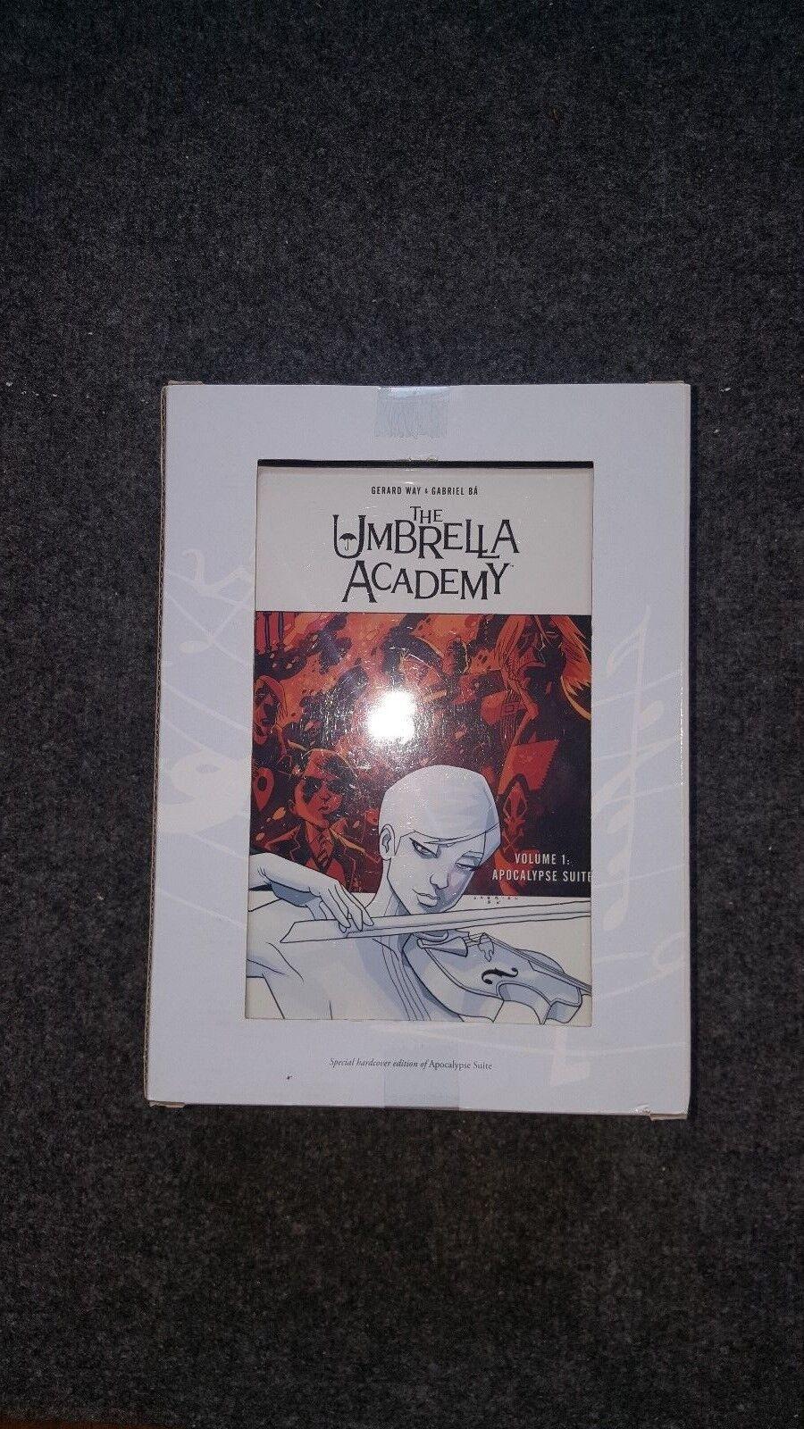 Dark Horse Comics Umbrella Academy Ltd HC Book & PVC Figure Box Set NM-/M 2009