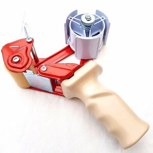 Pro-Series-Pistol-Grip-Packing-Tape-Gun-Dispenser-Brown-Clear-Selotape-50mm-2-034