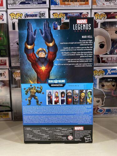 "Mar-Vell Avengers gameverse Marvel Legends Abomination BAF 2020 6/"" Figure"