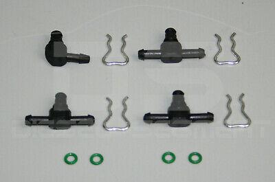 Injektor Einspritzdüse Rücklaufnippel Klammern Rücklauf BMW Mercedes Audi VW