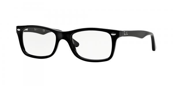 Ray Ban RX5228 2000 Shiny Black 53mm   eBay 08e795aa80