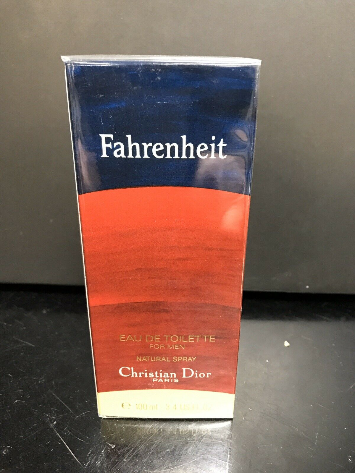 Fahrenheit Christian Dior Perfume Cologne Mens 3.4 oz 100 ml  Vintage NEW IN BOX