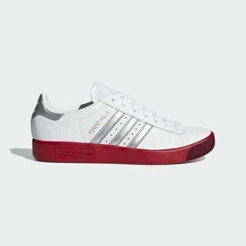 Forest Adidas Uk Argento Red 5 Bianco Scarlet Bnib Spzl Hills Bd7622 9 4w54xt