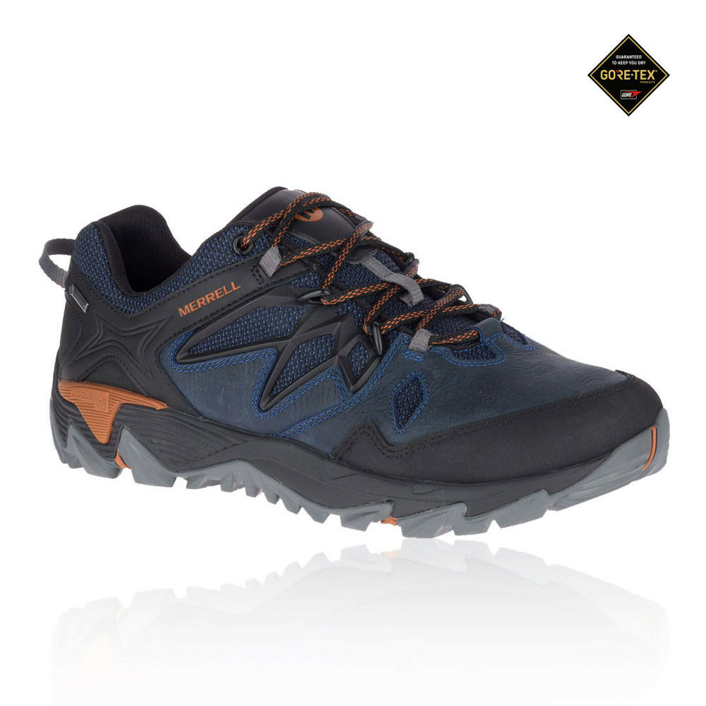 99f300b208 Merrell Mens All Out Blaze 2 GORE-TEX Walking shoes bluee Sports Outdoors