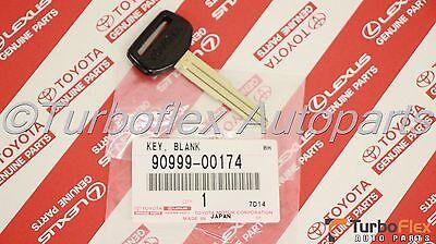 OEM Toyota 90999-00174 Key Blank Uncut Factory Non-Transponder Genuine Part OEM