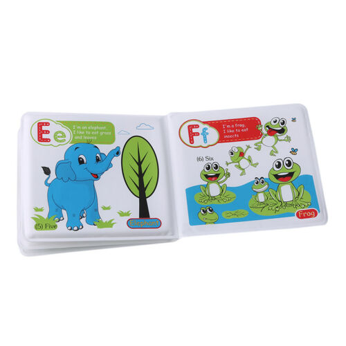 Young Children Airbag Cloth Book Torn Not Bad Early Education Bath Book Puzzle