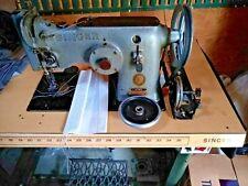 Singer 143w3 Zig Zag Straight Lockstitch Industrial Sewing Machine With Table