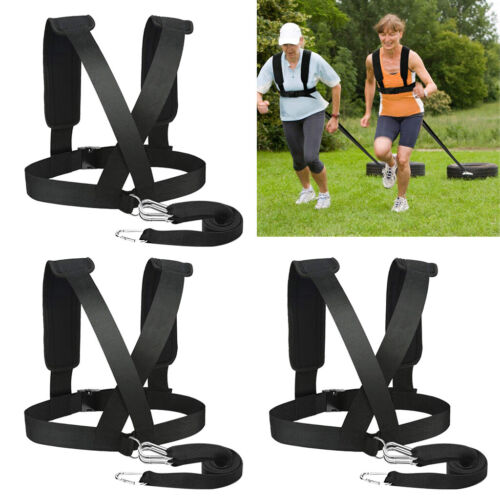 3 Count Workout Pull Resistance Trainer Running Speed Training Band Strap