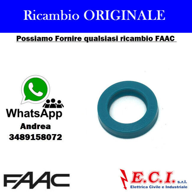 63000655 FAAC GUARNIZIONE EU 1624/SP-Z20 MOTORE 422 402