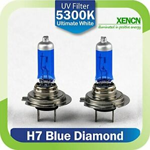 2x-HALOGEN-BULBS-XENCN-H7-100W-PX26d-12V-WHITE-gt-5000K-XENON-EFFECT-OFF-ROAD