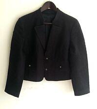 Damen Trachten Janker Jacke gesteppt blau Gr. 40 v. Perma