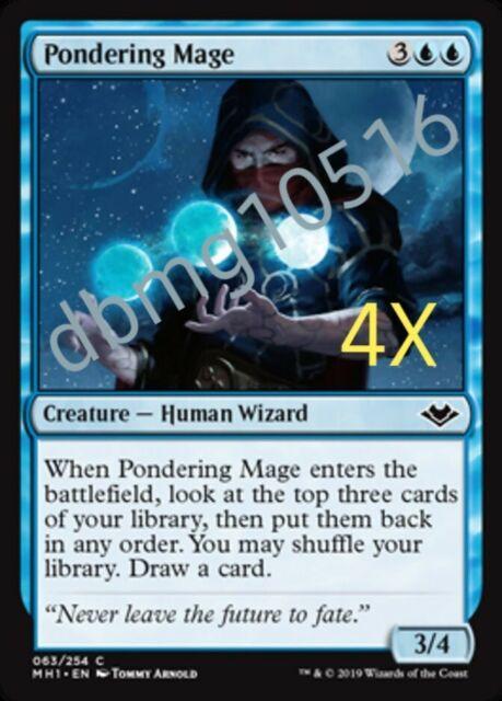 MTG Magic 4x Unearth Modern Horizons NM