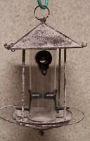 Bird Feeder Pagoda Seed Metal