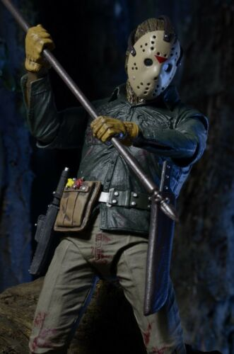 "FINAL CHAPTER 7/""Ultimate Figure Set NECA Friday the 13th Part 3,4/&6 JASON LIVES"