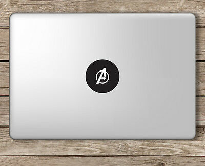Avenger's Logo Marvel - Apple Macbook Laptop Vinyl Sticker Decal