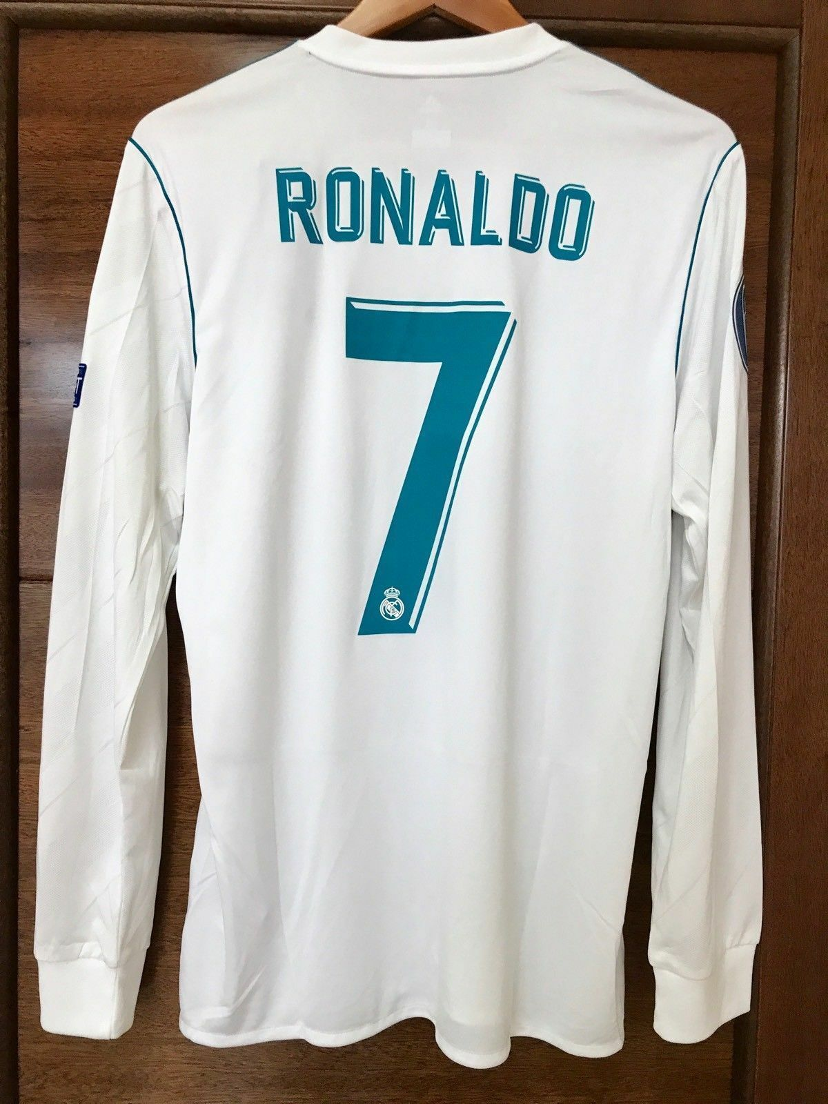 Maglia REAL MADRID Adidas RONALDO 7 Final Champions League 2018 KYIV -S-M-L-XL