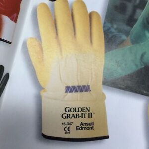 Barbed Wire Gloves | Barbed Wire Gloves Golden Grab It Gloves Ansell Ebay