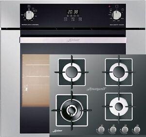 herdset autark einbau gasbackofen kaiser eg 6370 gasherd. Black Bedroom Furniture Sets. Home Design Ideas