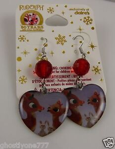 Rudolph-red-nosed-reindeer-clarice-50-years-earrings-exclusive-to-claires