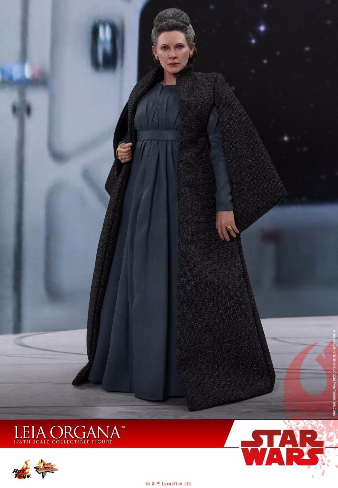 HOT TOYS MMS459 Estrella Wars Jedi Leia Organa la última figura de Cocherie Fisher 1 6