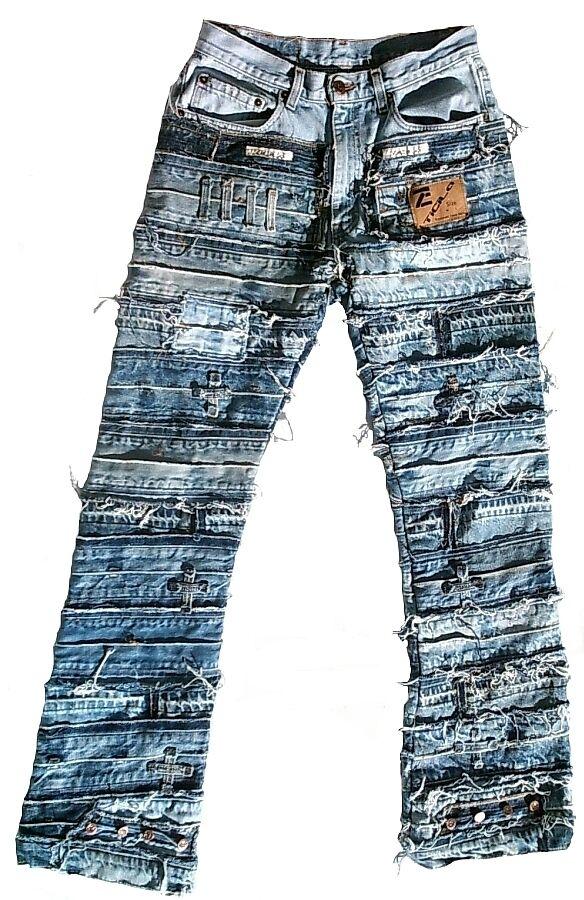 Ticila Seven Star Two pezzo unico SPECIAL SPECIAL SPECIAL EDITION Rocker Biker Rockstar vintage jeans b17b06