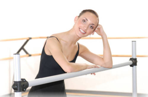 Vita Vibe NEW Ballet Barre B60 Portable 5ft Single Bar Stretch//Dance Bar