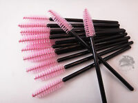 Pink Tower Mascara Wands Brushes Disposable Eyelash Extension