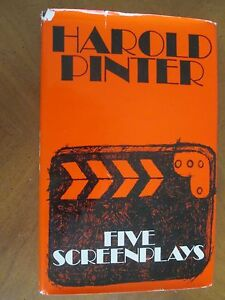 FIVE-SCREENPLAYS-by-Harold-Pinter-1971-FIRST-ED-HCDJ