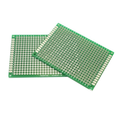 10//5//1PC Double Side 5x7cm PCB Strip board Printed Circuit Prototype Track Lots