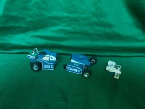 VINTAGE TRANSFORMERS G1 RACE CAR MIRAGE FOR PARTS OR REPAIR