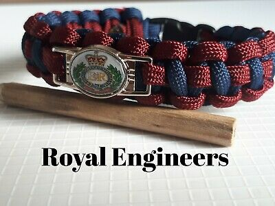 Royal Engineers Paracord Braccialetto-