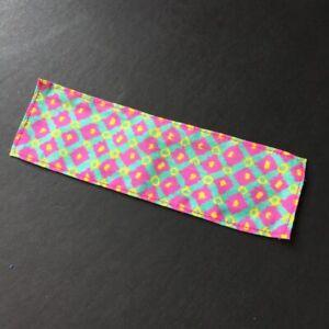 1987 Sindy Fashion Mélangeurs Motif Écharpe/Écharpe En Multicolore Imprimé Shimmyshim-afficher Le Titre D'origine