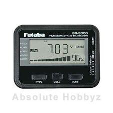 Futaba BR3000 Battery Checker Liion Lipo LiFe NiCd NiMH - FUTM4166