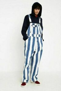 New-Levi-039-s-Silvertab-1990s-Striped-Overalls-Mens-Retro-039-90s-Striped-Overalls