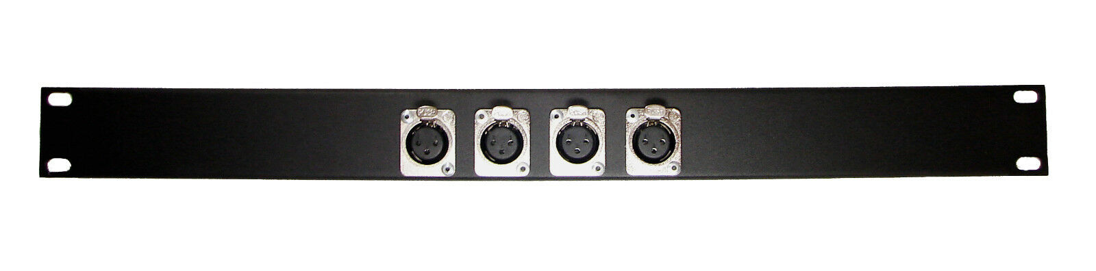 Procraft Formed Aluminum Rack Panel 8X4 Switchcraft Style XLR/'s Pre-Punched