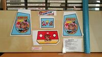 Decals For Electronic Coleco Tabletop Mini Arcade Dark Donkey Kong Version
