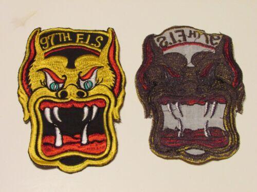 b8356 US Air Force Vietnam 97th FIS Fighter Inter Squadron IR20D