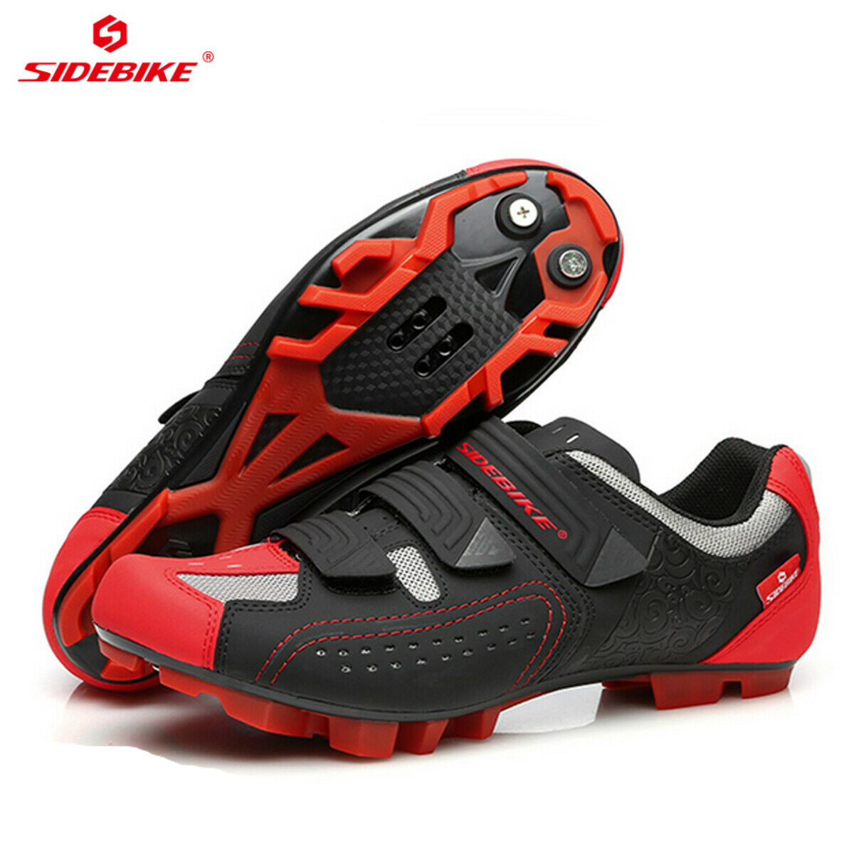 SIDEBIKE Mens MTB Mountain Bike Fitness  Bicycle Cycling shoes for Shimano SPD  online retailers