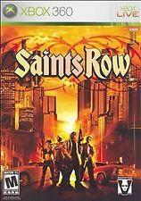 Saints Row (Microsoft Xbox 360, 2006) DISC IS MINT
