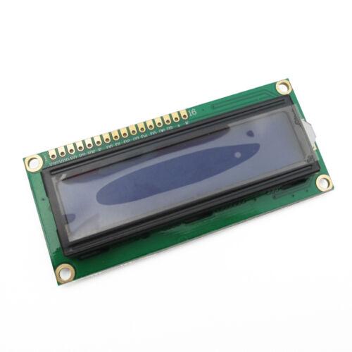 2PCS 1602 16x2 Character LCD Display Module HD44780 Controller Blue Blacklight