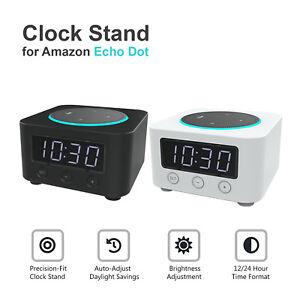Brand-New-Znewtech-Clock-Stand-for-Amazon-Echo-Dot-2nd-Gen
