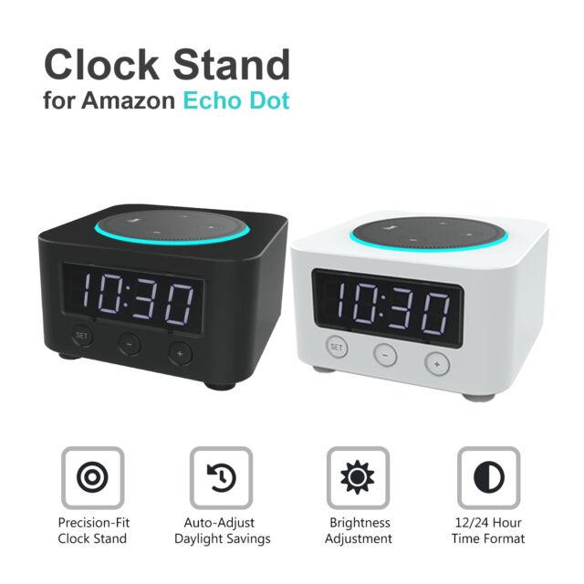 [Brand New] Znewtech Clock Stand for Amazon Echo Dot (2nd Gen)