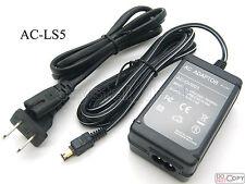 AC Adapter For AC-LS5 Sony DSC-P150 DSC-P200 DSC-T2 DSC-T5 DSC-T7 DSC-T9 DSC-T10
