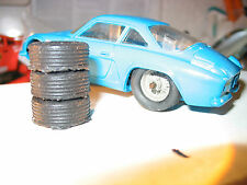8 Pneus repro silicone JOUEF Alpine BMW Porsche